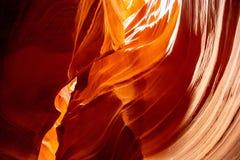 Antylopa jar blisko strony, Arizona, usa Piaskowcowe formacje na Navajo narodzie zdjęcie royalty free