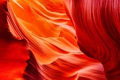 Antylopa jar jest szczeliny jarem w Amerykańskich południowych zachodach zdjęcie royalty free