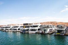 Antylopa punktu Marina jezioro Powell Zdjęcia Royalty Free