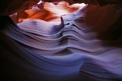 antylopy jaru colour gradiant czerwień Zdjęcia Stock