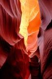 antylopy jaru formacj skała Zdjęcia Stock