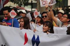 Antyrządowy protest Zdjęcie Royalty Free