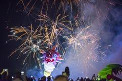 Anuário 18o grande Dragon Parade, Krakow, Polônia Fotos de Stock