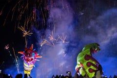 Anuário 18o grande Dragon Parade, Krakow, Polônia Fotografia de Stock Royalty Free