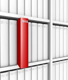 Anuários - 2015 ilustração do vetor