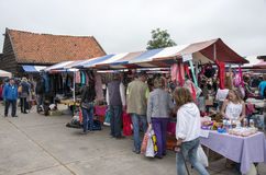 Anual farmers market in Hellevoetsluis Stock Images
