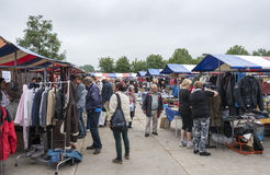 Anual farmers market in Hellevoetsluis Royalty Free Stock Images