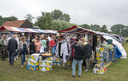 Anual farmers market in Hellevoetsluis Stock Photos