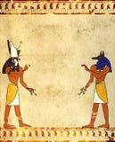 Anubis And Horus Royalty Free Stock Photos