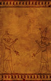 Anubis et Horus Photo stock