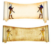 Anubis et Horus Photographie stock libre de droits