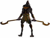 Anubis-Fantasy Egyptian Monster Stock Photos