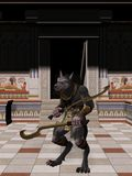 Anubis-Fantasy Egyptian Monster Stock Images