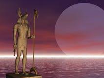 Anubis On Guard Royalty Free Stock Photos