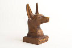 Anubis Head. Head of Anubis, God & friend of the Dead royalty free stock photography