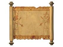 Anubis and Horus Stock Image
