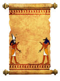 Anubis and Horus Royalty Free Stock Images
