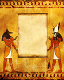 Anubis and Horus Royalty Free Stock Image