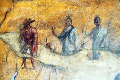 Anubis a Pompei immagini stock libere da diritti