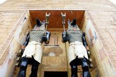 Anubis statue stock photos
