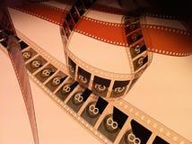 Anule e conte para baixo no filme 1 Imagens de Stock