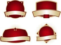Anule etiquetas Imagem de Stock Royalty Free