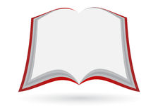 Anule o livro aberto Imagens de Stock