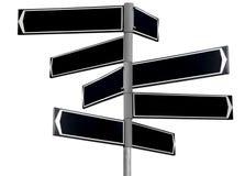 Anule o sinal de sentido traseiro Foto de Stock Royalty Free