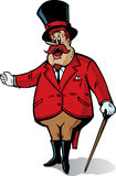 Anunciador do circo Imagens de Stock Royalty Free