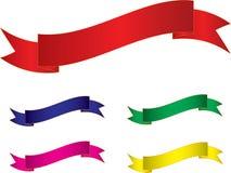 Anunciando bandeiras Fotografia de Stock Royalty Free