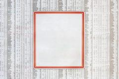 Anuncio clasificado Imagenes de archivo