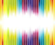 Anuncio colorido del arco iris Ilustración del Vector