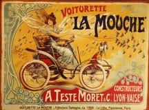 Anuncio de la vendimia Imagen de archivo