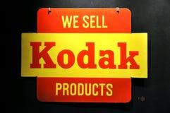 Anuncio de la vendimia de Kodak Imagen de archivo