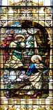 Anuncio de la Virgen Maria imagen de archivo libre de regalías