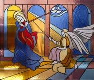 Anuncio de la Virgen Maria Fotos de archivo