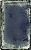 Anuncio de papel de Grunge Fotografía de archivo libre de regalías