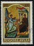Anuncio del icono de Medievel Imagen de archivo