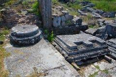 Anuncio Istrum de Nicopolis Imagen de archivo libre de regalías