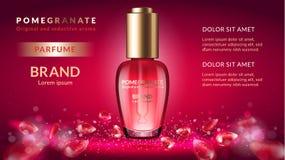 Anuncios del perfume de la granada libre illustration