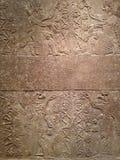 Anunnaki en Boom van het Leven - Hulpcomité bij Metropolitaans Museum van Kunst in Manhattan, New York, NY royalty-vrije stock afbeeldingen