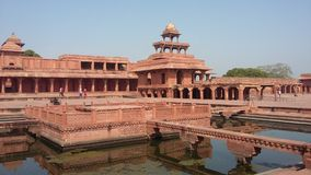 Anup talao in fatehpur Shikri Royalty Free Stock Photography