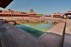 Anup Talao platform. Fatehpur Sikri. Uttar Pradesh. India Royalty Free Stock Photography