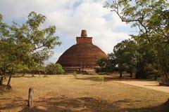 Anuradhapura,斯里南卡 库存照片