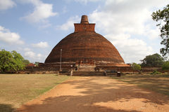 Anuradhapura, Σρι Λάνκα Στοκ Φωτογραφία