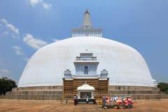 Anuradhapura, dagoba Ruvanvelisaya Στοκ Εικόνες
