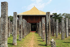Anuradhapura, gardens arround dagoba, Sri Lanka Stock Image