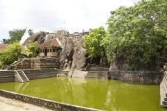 anuradhapura isurumuniya lanka sri寺庙 免版税库存图片