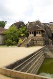 anuradhapura isurumuniya lanka sri寺庙 免版税库存照片