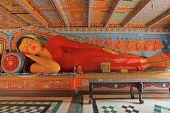 Anuradhapura Isurumuniya Temple& x27 ; s Bouddha de sommeil, patrimoine mondial de l'UNESCO de Sri Lanka photos stock